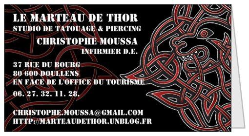 Le Marteau de Thor - studio de tatouage & piercing  livepreview